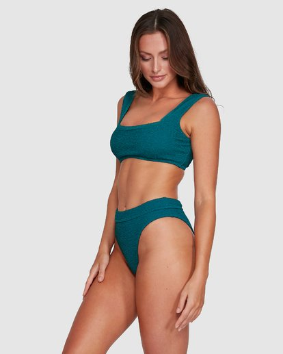 5 Summer High Zoe Tank Bikini Top Green 6503739 Billabong