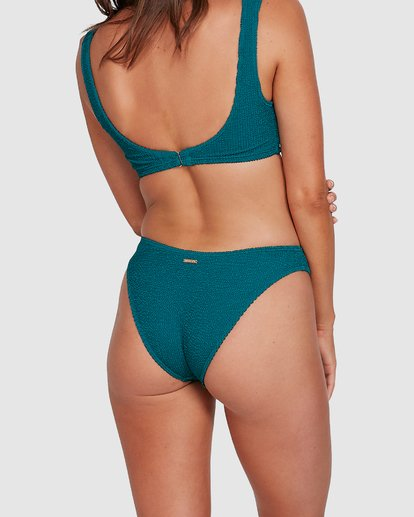 5 Summer High Bondi Bikini Bottoms Green 6503742 Billabong