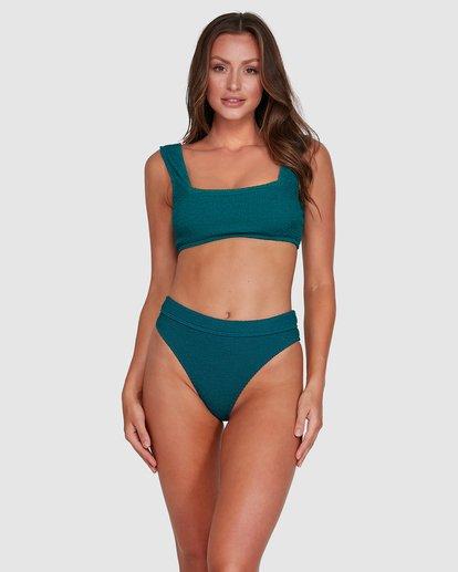1 Summer High Maui Rider Bikini Bottoms Green 6503744 Billabong