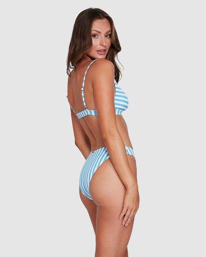 0 Cassy Stripe Bondi Bikini Bottoms Blue 6503773 Billabong