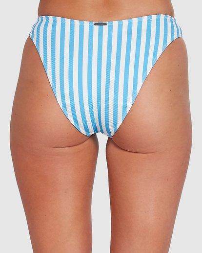 4 Cassy Stripe Bondi Bikini Bottoms Blue 6503773 Billabong