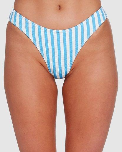 3 Cassy Stripe Bondi Bikini Bottoms Blue 6503773 Billabong