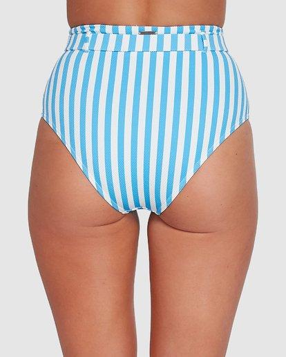 4 Cassy Stripe Hi Retro Bikini Bottoms Blue 6503774 Billabong
