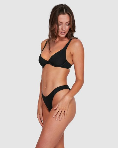 2 Marina Bondi Bikini Bottoms Black 6503780 Billabong