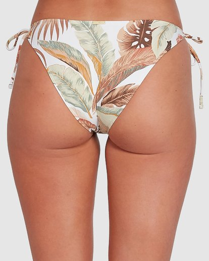 4 Tropicale Ring Tie Tropic Bikini Bottoms White 6503785 Billabong