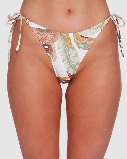 3 Tropicale Ring Tie Tropic Bikini Bottoms White 6503785 Billabong