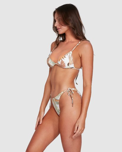 2 Tropicale Ring Tie Tropic Bikini Bottoms White 6503785 Billabong