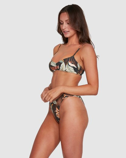 4 Tropicale Gigi Bralette Bikini Top Black 6503797 Billabong