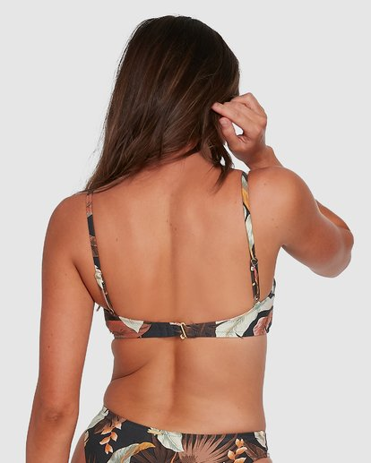 2 Tropicale D/DD Bralette Bikini Top Black 6503798 Billabong