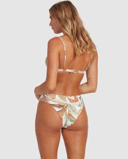 1 Tropicale Bondi Bikini Bottoms White 6503801 Billabong
