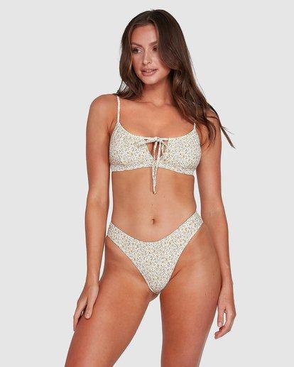 3 Summer Coco Bralette Bikini Top Beige 6503803 Billabong