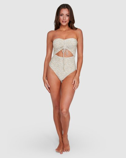 6 Summer Bandeau One Piece Beige 6503804 Billabong