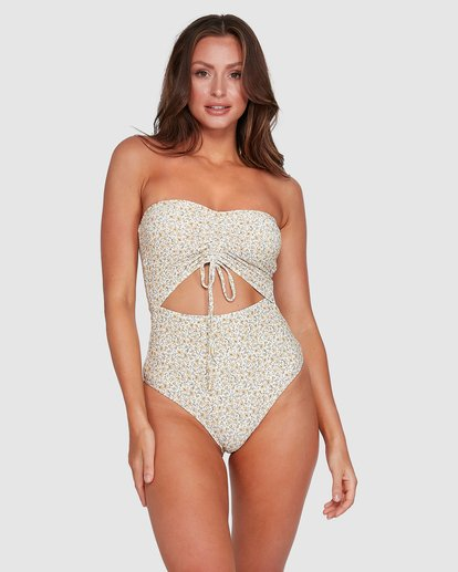 1 Summer Bandeau One Piece Beige 6503804 Billabong