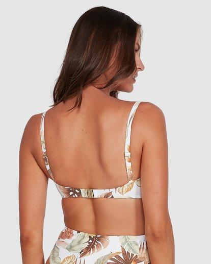 2 Tropicale Mia D/DD Bralette Bikini Top White 6503837 Billabong