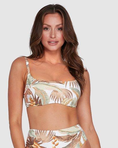 1 Tropicale Mia D/DD Bralette Bikini Top White 6503837 Billabong