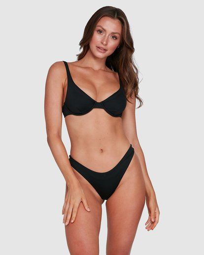 9 Sol Searcher Drift Bra Bikini Top Black 6503838 Billabong