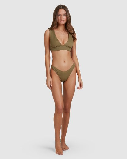 4 Sand Dunes Plunge Bikini Top Green 6503865 Billabong