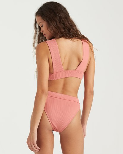 1 Sand Dunes Plunge Bikini Top Pink 6503865 Billabong