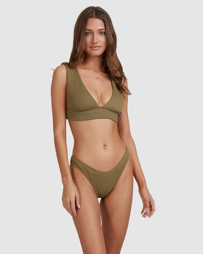 2 Sand Dunes Plunge Bikini Top Green 6503865 Billabong