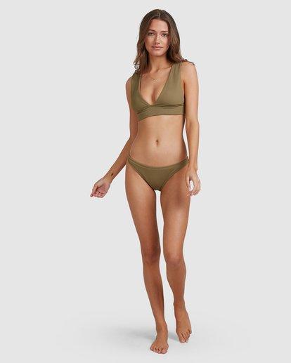 4 Sand Dunes Tropic Bikini Bottoms Green 6503868 Billabong