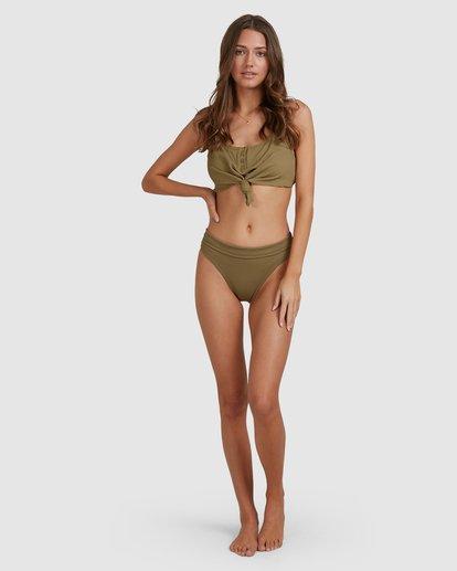 4 Sand Dunes Maui Rider Bikini Bottoms Green 6503871 Billabong