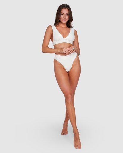 6 Crystal Tides Plunge Bikini Top White 6503884 Billabong