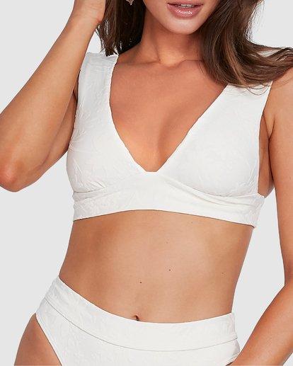 4 Crystal Tides Plunge Bikini Top White 6503884 Billabong