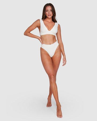 6 Crystal Tides Maui Rider Bikini Bottoms White 6503885 Billabong