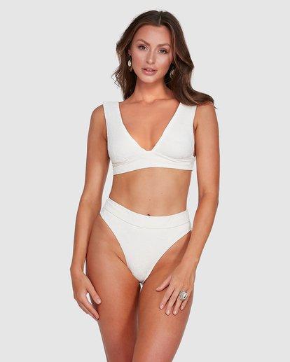 1 Crystal Tides Maui Rider Bikini Bottoms White 6503885 Billabong