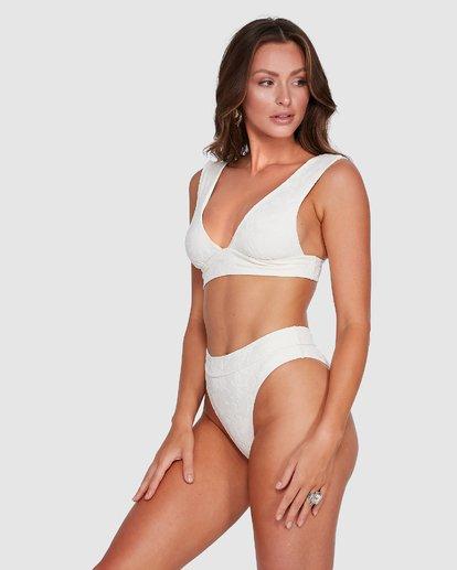 2 Crystal Tides Maui Rider Bikini Bottoms White 6503885 Billabong