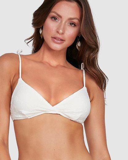 6 Crystal Tides Tali Bikini Top White 6503886 Billabong