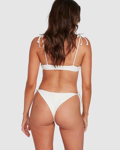 6 Crystal Tides Tanga Bikini Bottoms White 6503887 Billabong