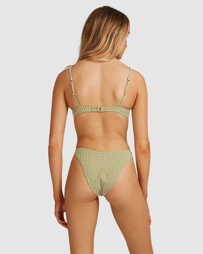 3 Surf Check Bra Bikini Top Green 6503947 Billabong