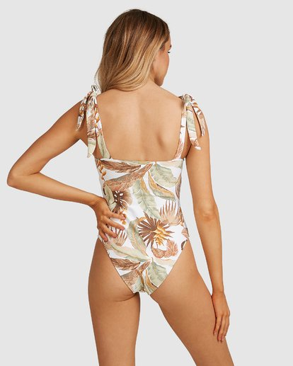 3 Tropicale One Piece White 6503950 Billabong