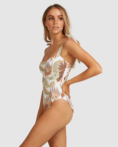 2 Tropicale One Piece White 6503950 Billabong