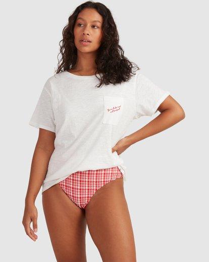 1 Beach Bliss Tee - Steph Claire Smith White 6504038 Billabong