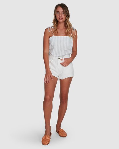 6 Seaspray Cami Top White 6504144 Billabong