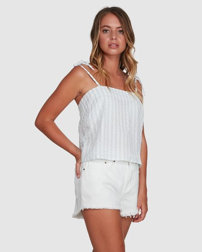 2 Seaspray Cami Top White 6504144 Billabong