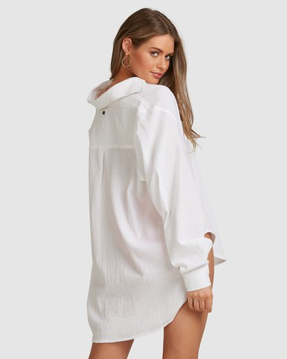 5 Beach Bliss Blouse - Steph Claire Smith White 6504157 Billabong