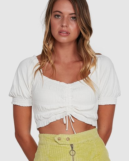 5 Here And Now Top White 6504174 Billabong