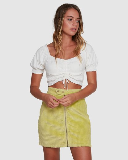 2 Here And Now Top White 6504174 Billabong