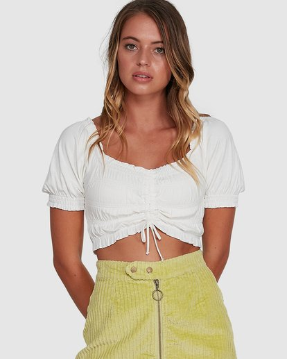 1 Here And Now Top White 6504174 Billabong