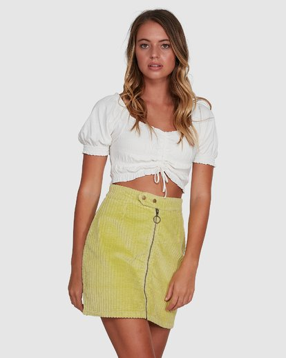 3 Here And Now Top White 6504174 Billabong