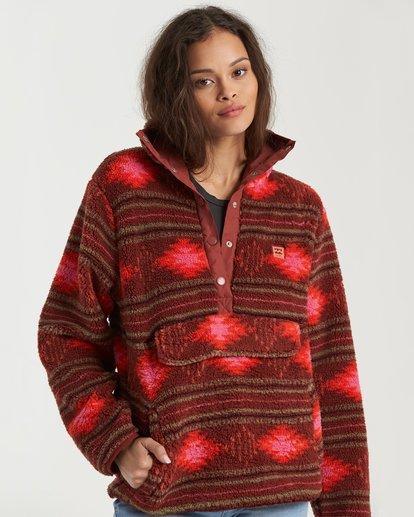 0 Switchback Pullover Fleece Brown 6504210 Billabong