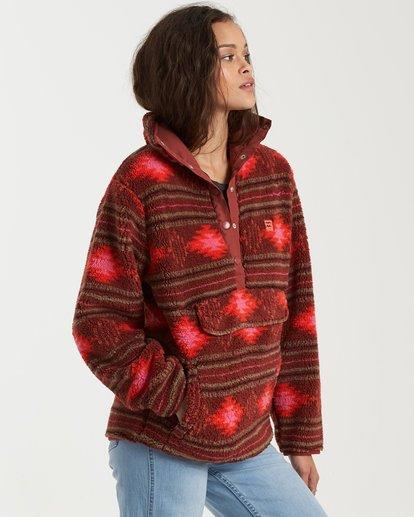 1 Switchback Pullover Fleece Brown 6504210 Billabong