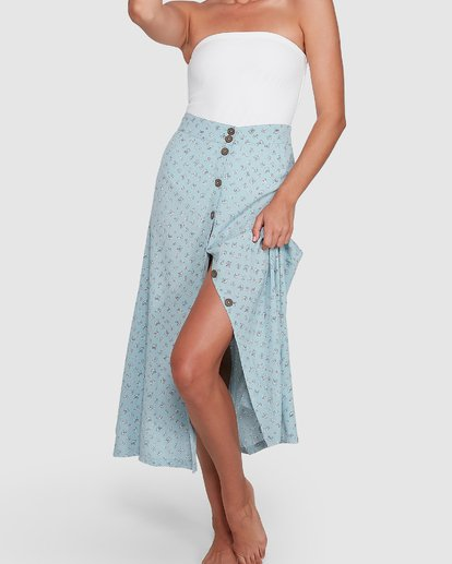 4 Sea Mist Skirt Blue 6504318 Billabong