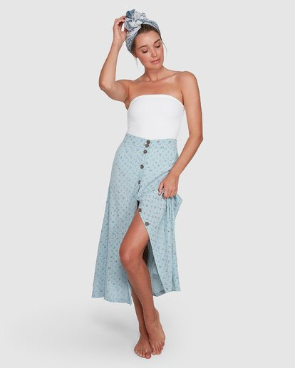 2 Sea Mist Skirt Blue 6504318 Billabong