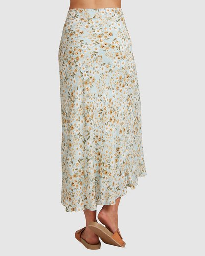 5 Del Mar Midi Skirt Blue 6504323 Billabong