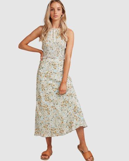 1 Del Mar Midi Skirt Blue 6504323 Billabong