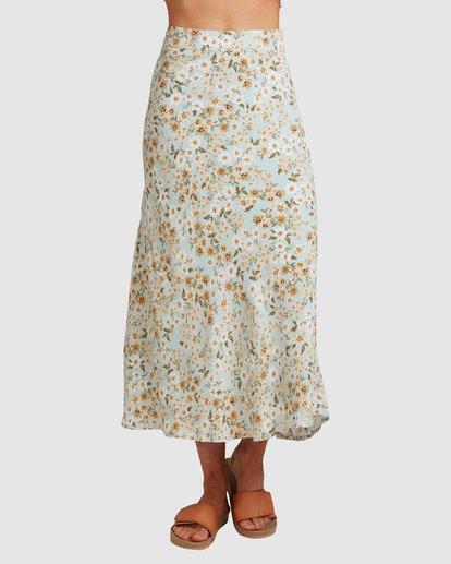 4 Del Mar Midi Skirt Blue 6504323 Billabong